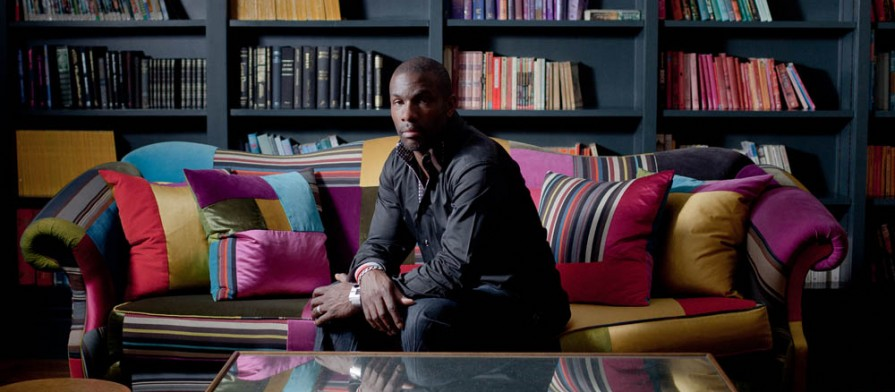 James Dodd Photographs ex Olympian Derek Redmond for The Financial Times