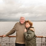 Paddle Steaming with Timothy West and Prunella Scales- Robert Ormerod for the FT Magazine